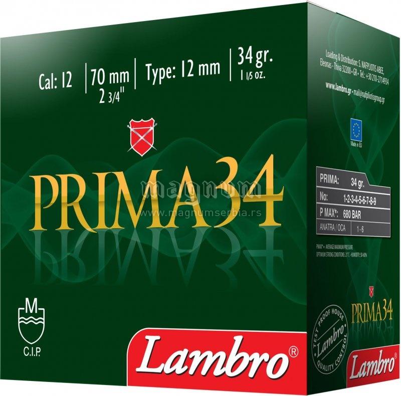 Pat.Lambro 12/70 Prima 34g 3/0