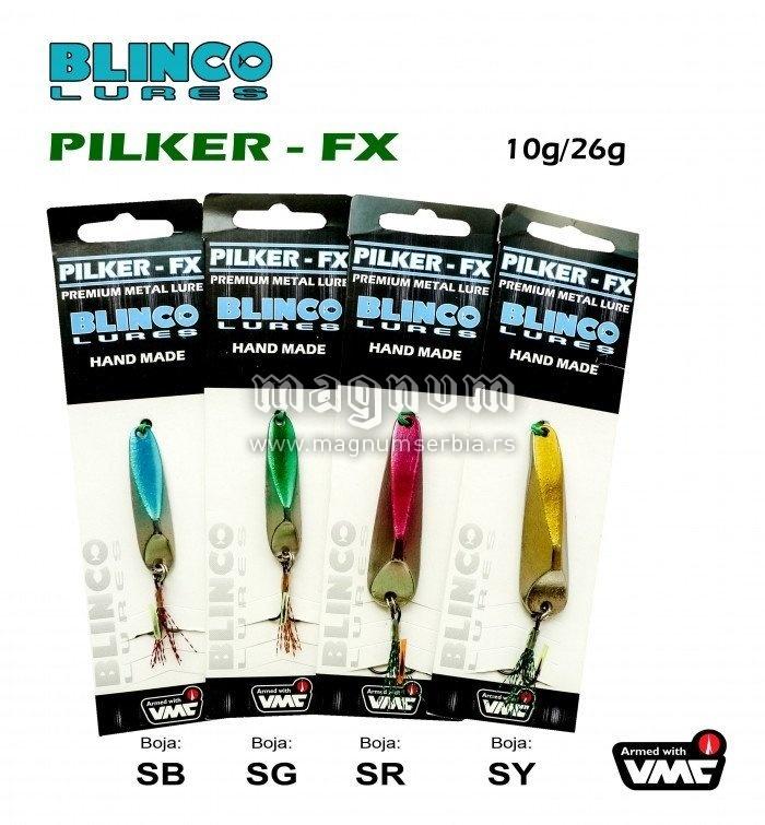 Pilker FX 10g 5131032 SG SY SGR