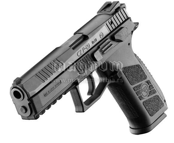 Pistolj CZ P-09 Decocker 9x19 Zbrojovka
