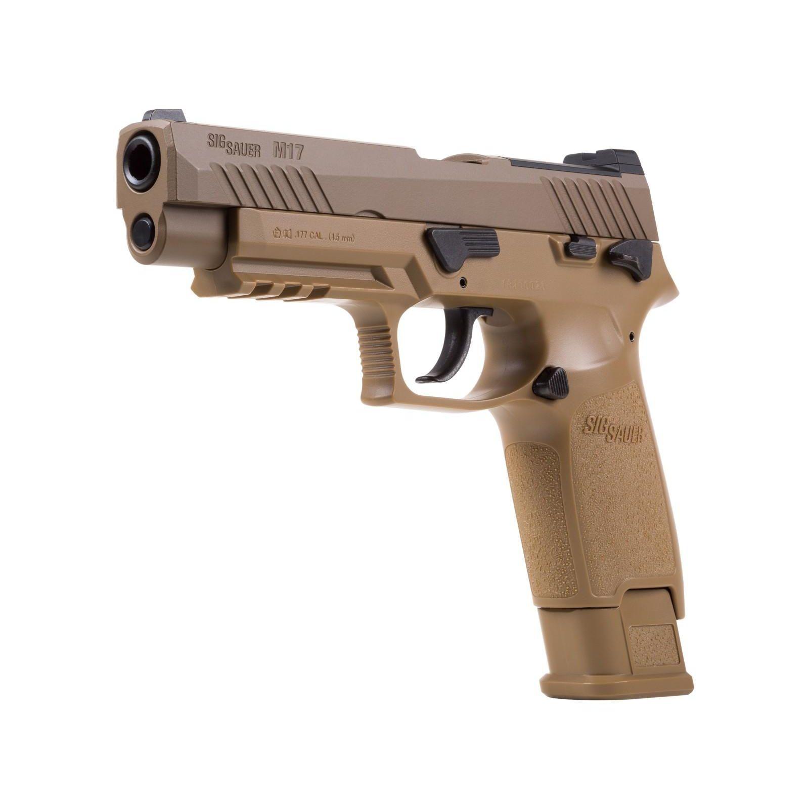 Pistolj vazdusni Sig Sauer M17 P320 ASP 4.5mm 130m/s