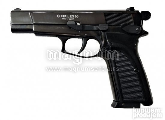Replika Ekol ES66 Gun Black 4.5mm kuglice