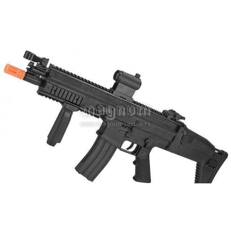 Replika FN Scar-L 200706 Spring Black Cyber Gun