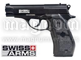 Replika Swiss Arms 288707 P84 4.5mm Full Metal NBB
