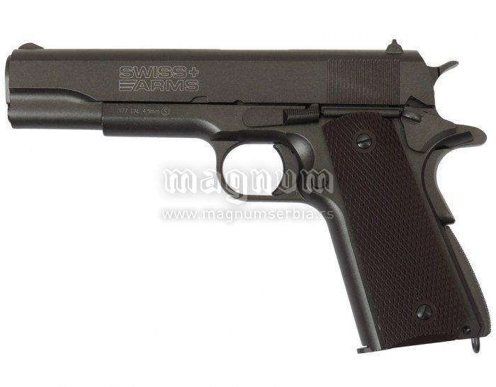 Replika Swiss Arms P1911 4.5mm Metal BLOW BACK