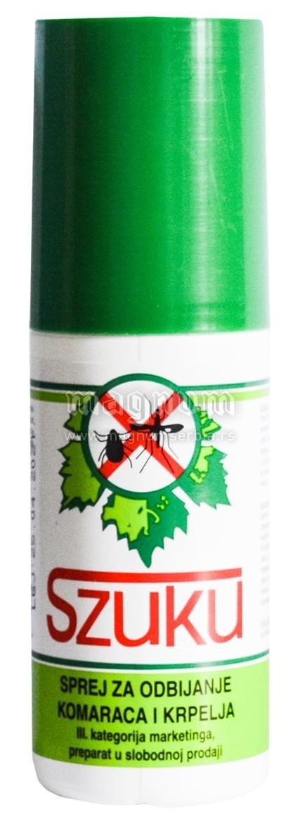 Sprej Szuku protiv komaraca