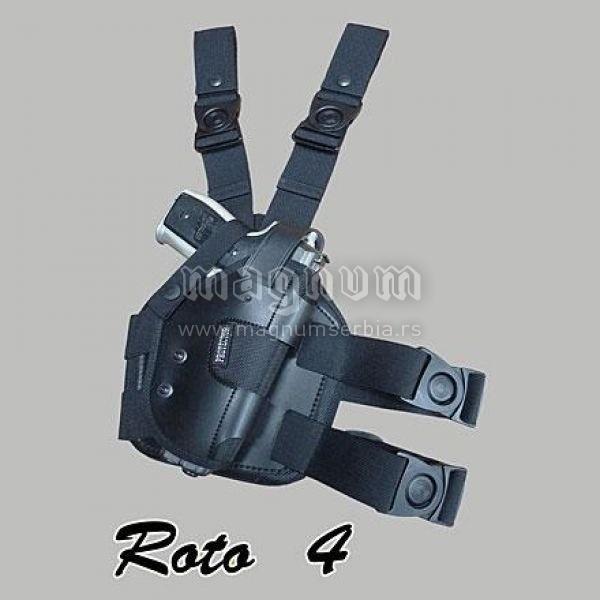 Torbica Protector Roto 4T crna