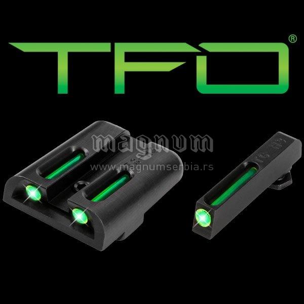 Truglo nisan 131GT1 TFO glock 17/19 zeleni