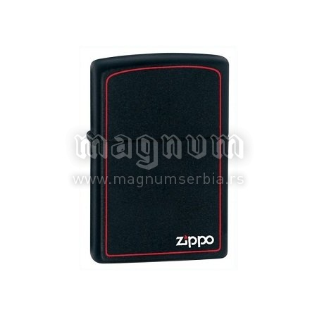Zippo upaljac 218ZB Matte/Black Red