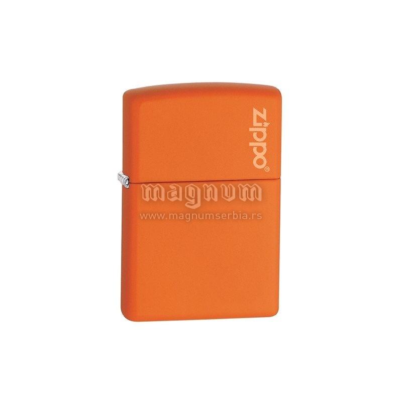 Zippo upaljac Z231ZL Orange Zippo logo